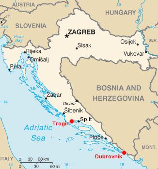 Croatia   Association Nationale des Villes et Pays d'Art et d